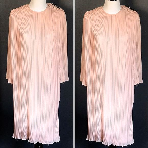 Miss Elliette Dresses & Skirts - Vintage 1980 Miss Elliette Blush Pink Layer Dress